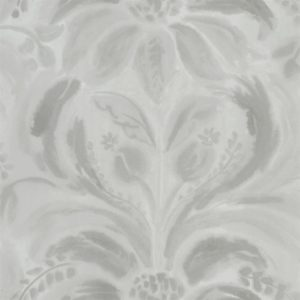 Angelique Damask Stone Wallpaper by Designers Guild