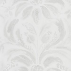 Angelique Damask Chalk Wallpaper by Designers Guild