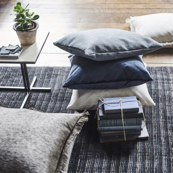 Coombe Gunmetal Fabric by Designers Guild