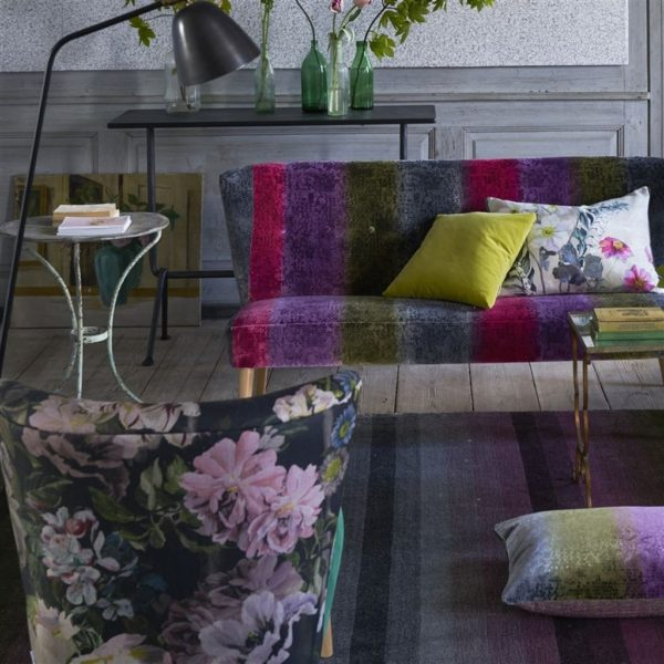 Santafiora Berry Fabric by Designers Guild