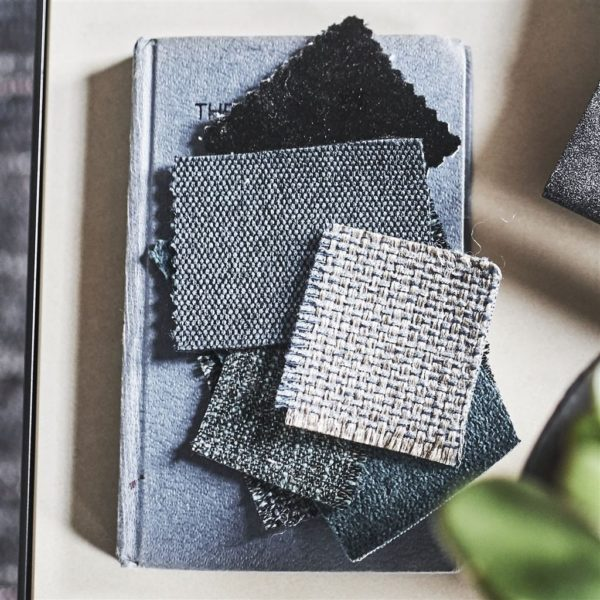 Caton Midnight Fabric by Designers Guild