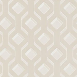 Chareau Ivory Wallpaper by Designers Guild