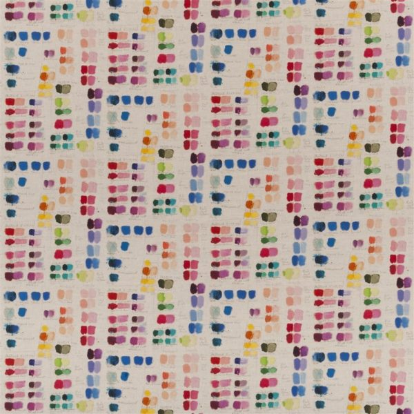 John Derian Mixed Tones Canvas Fabric by Designers Guild
