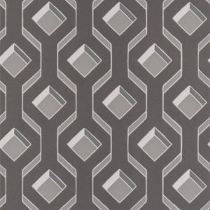 Chareau Zinc Wallpaper by Designers Guild