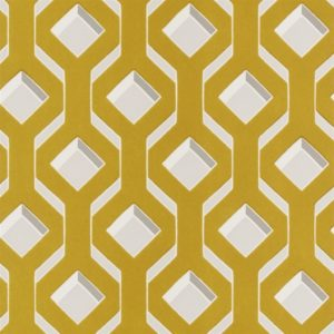 Chareau Chartreuse Wallpaper by Designers Guild