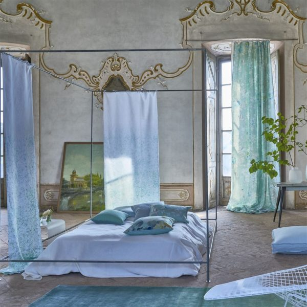 Vanoise Azure Fabric by Designers Guild
