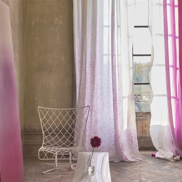 Vanoise Fuchsia Fabric by Designers Guild