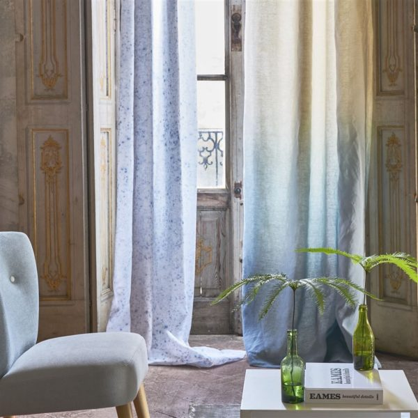 Savoie Graphite Fabric by Designers Guild