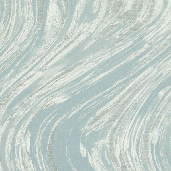 Agata Mineral/Ivory Fabric by Clarke & Clarke