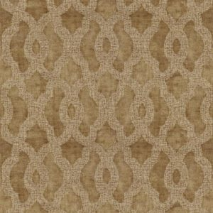 Acanthus Bronze Fabric by Jim Dickens