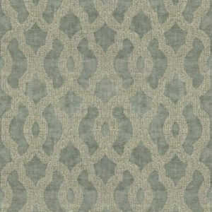 Acanthus Frost Fabric by Jim Dickens