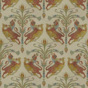 Charlemagne Carpathian Gold Fabric by Jim Dickens