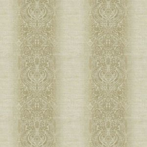 Ambi Embroidery Truffle Fabric by Jim Dickens