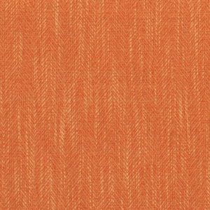 Lucca Tangerine Fabric by Jim Dickens