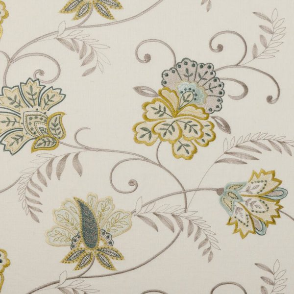 Bukhara Citrus Fabric by Clarke & Clarke