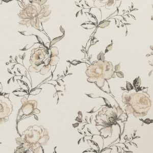 Clarisse Charcoal Fabric by Clarke & Clarke