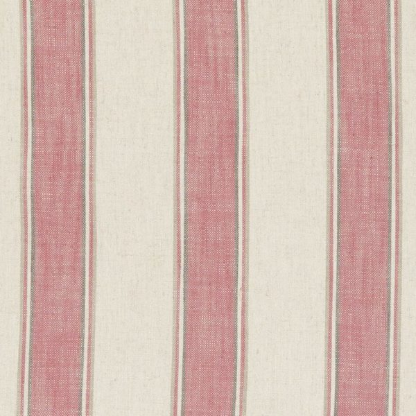 Kinburn Raspberry Fabric by Clarke & Clarke
