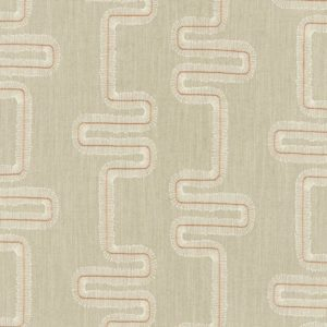 Mikkel Spice/Natural Fabric by Clarke & Clarke