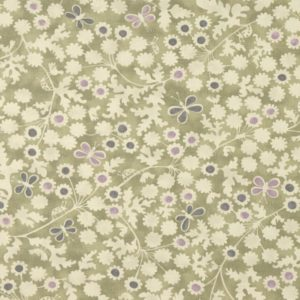 Berwick Trail Olive Fabric by Clarke & Clarke