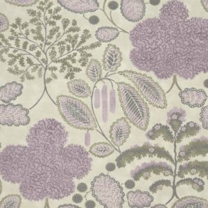 Bloomsbury Heather/Slate Fabric by Clarke & Clarke
