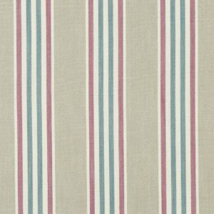 Quentin Berry/Teal Fabric by Clarke & Clarke