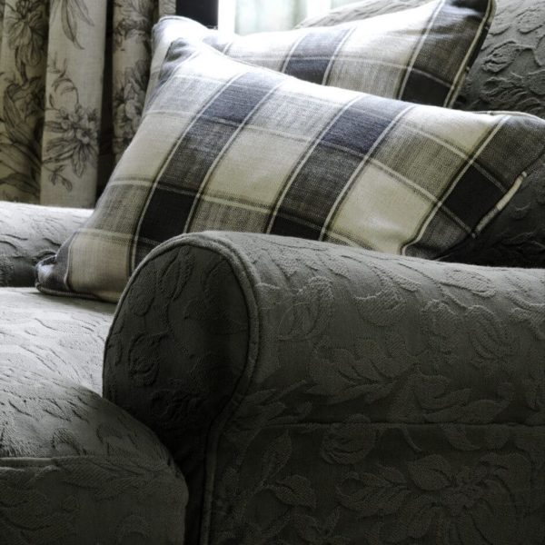 Angus Taupe Fabric by Clarke & Clarke