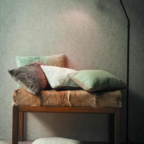 Pampero Gris Fabric by Casamance