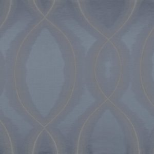Chisame Gris Bleute Fabric by Casamance