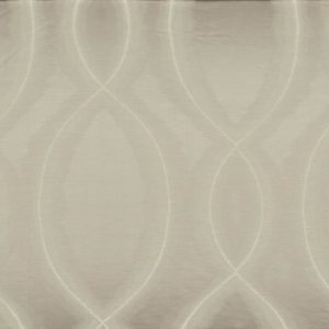 Chisame Gris Perle Fabric by Casamance