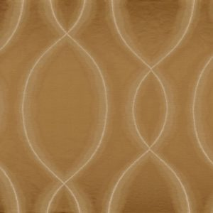 Chisame Marron Bronze Fabric by Casamance