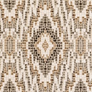 Mosaic Natural Fabric by Clarke & Clarke