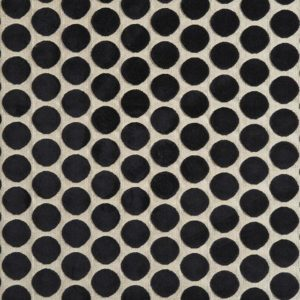 Artista Light/Black Fabric by Casamance