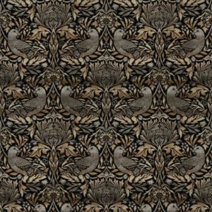 Ruskin Pewter Fabric by Jim Dickens