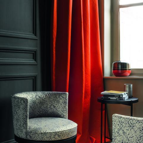 Ode Rouge Fabric by Casamance