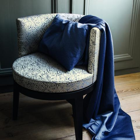 Ode Marine Fabric by Casamance
