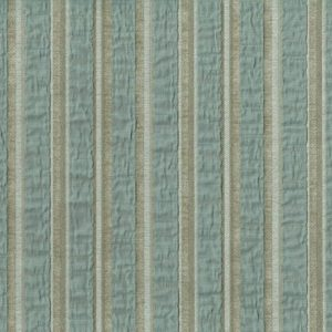 Adana Blue Wheat Fabric by Jim Dickens
