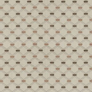 Agra Dusky Rose Fabric by Jim Dickens