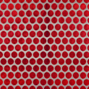Artista Rouge Piment Fabric by Casamance