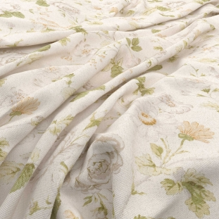 Archive Linen Chantilly Daisy by Warwick
