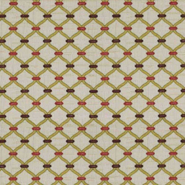 Agra - Loganberry Fabric by Jim Dickens (Agra-Loganberry)