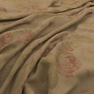 Archive Linen - Bibury Teastain Fabric by Warwick (Archive Linen-Bibury Teastain)