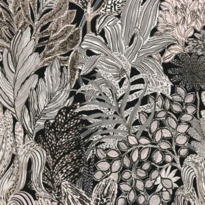 Borromee - Taupe Wallpaper by Casamance (74320222)