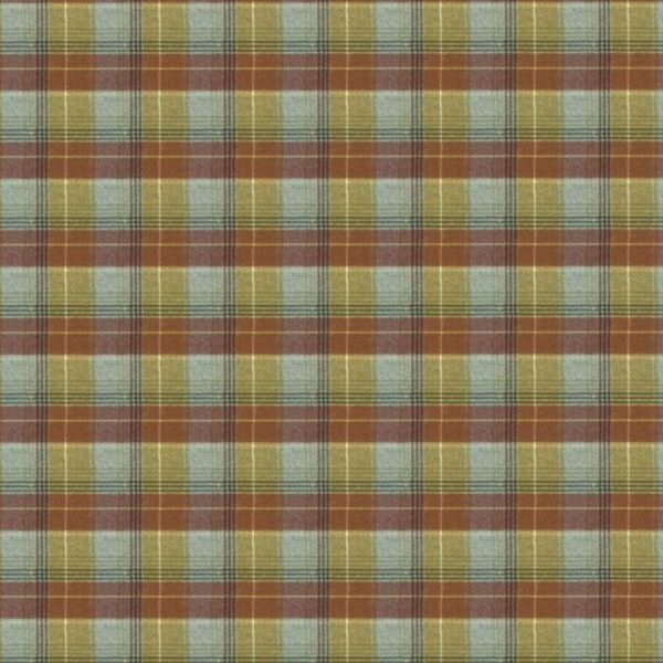 Carousel Check - Fireclay Fabric by Jim Dickens (Carousel Check-Fireclay)