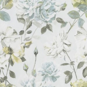 Couture Rose - Duck Egg Wallpaper by Designers Guild (PDG711/04)