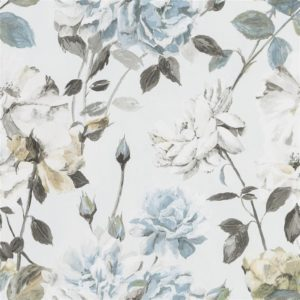 Couture Rose - Graphite Wallpaper by Designers Guild (PDG711/05)