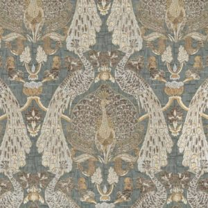 Fantasia - Gold Dust Fabric by Jim Dickens (Fantasia-Gold Dust)