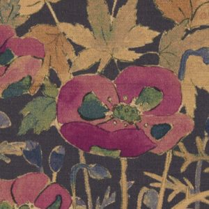 Faria Flowers Vintage Velvet - Dragonfly Fabric by Liberty