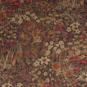 Faria Flowers Woodpecker Fabric by Liberty
