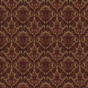 Hamilton - Berry Red Fabric by Jim Dickens (Hamilton-BerryRed)