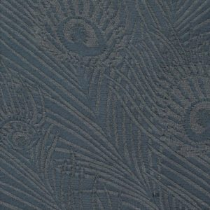 Hera Plume Dyed Jacquard - Pewter Blue Fabric by Liberty